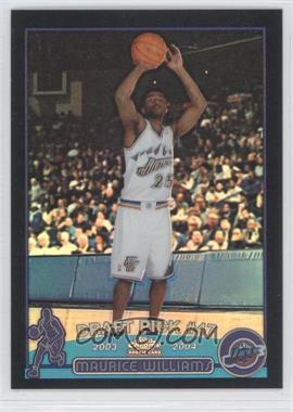 2003-04 Topps Chrome Black Refractor #151 - Mo Williams /500