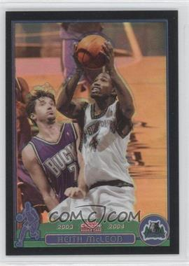 2003-04 Topps Chrome Black Refractor #163 - Keith McLeod /500