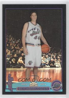 2003-04 Topps Chrome Black Refractor #165 - Ben Handlogten /500