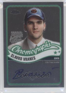 2003-04 Topps Chrome Chromographs #CA-SV - Slavko Vranes