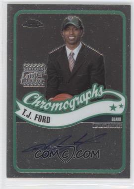 2003-04 Topps Chrome Chromographs #CA-TF - T.J. Ford