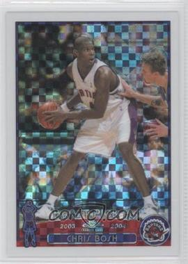 2003-04 Topps Chrome X-Fractor #114 - Chris Bosh /220