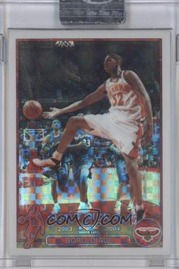 2003-04 Topps Chrome X-Fractor #131.1 - Boris Diaw (English Language) /220