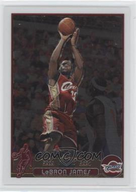 2003-04 Topps Chrome #111 - Lebron James