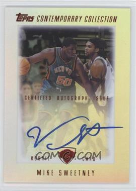 2003-04 Topps Contemporary Collection - [Base] - Red #30 - Mike Sweetney /50
