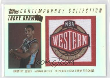 2003-04 Topps Contemporary Collection - Lucky Draw #LD22 - Dahntay Jones /175