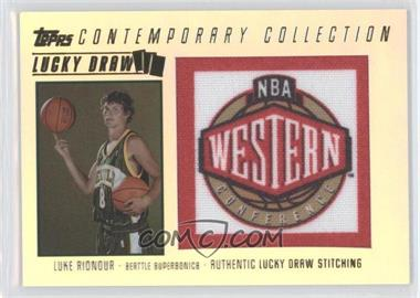 2003-04 Topps Contemporary Collection - Lucky Draw #LD9 - Luke Ridnour /175