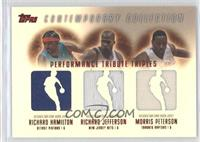 Richard Hamilton, Richard Jefferson, Morris Peterson /50