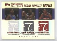 Amare Stoudemire, Leandro Barbosa, Shawn Marion /50
