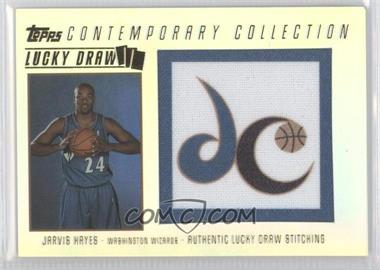2003-04 Topps Contemporary Collection Lucky Draw Parallel 25 #LD7 - Jarvis Hayes /25