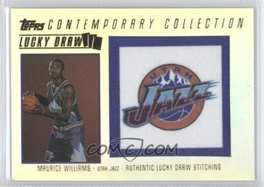 2003-04 Topps Contemporary Collection Lucky Draw Parallel 50 #LD-19 - Mo Williams /50