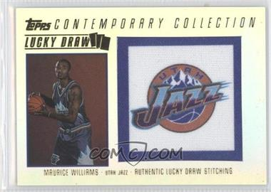 2003-04 Topps Contemporary Collection Lucky Draw Parallel 50 #LD19 - Mo Williams /50