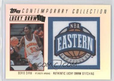 2003-04 Topps Contemporary Collection Lucky Draw #LD12 - Boris Diaw /175