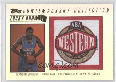 2003-04 Topps Contemporary Collection Lucky Draw #LD15 - Leandro Barbosa /175
