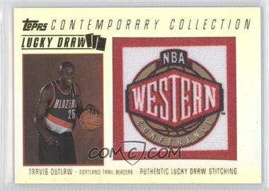 2003-04 Topps Contemporary Collection Lucky Draw #LD21 - Travis Outlaw /175
