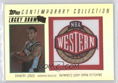 2003-04 Topps Contemporary Collection Lucky Draw #LD22 - Dahntay Jones /175