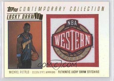 2003-04 Topps Contemporary Collection Lucky Draw #LD8 - Mickael Pietrus /175