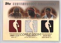 Lamar Odom, Jalen Rose, Darius Miles /200
