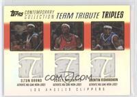 Elton Brand, Corey Maggette, Quentin Richardson /250