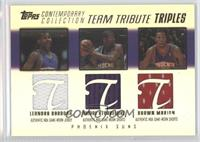 Amare Stoudamire, Leandro Barbosa, Shawn Marion /50