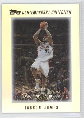 2003-04 Topps Contemporary Collection #1 - Lebron James