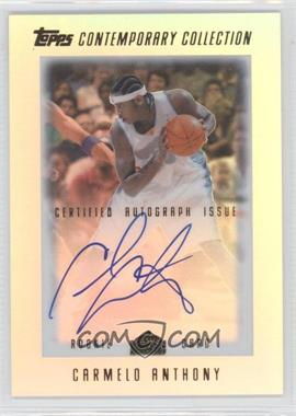 2003-04 Topps Contemporary Collection #22 - Carmelo Anthony /499