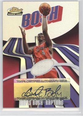2003-04 Topps Finest Refractor #157 - Chris Bosh /250