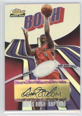 2003-04 Topps Finest Refractor #157 - Chris Bosh /250