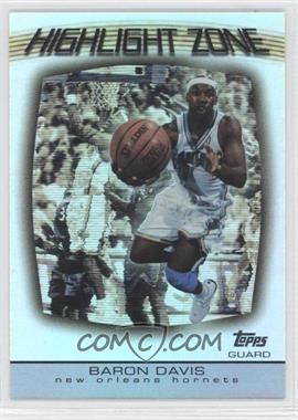 2003-04 Topps Highlight Zone #HZ-12 - Baron Davis
