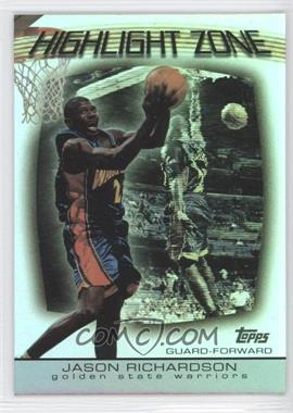2003-04 Topps Highlight Zone #HZ-17 - Jason Richardson