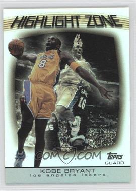 2003-04 Topps Highlight Zone #HZ-20 - Kobe Bryant