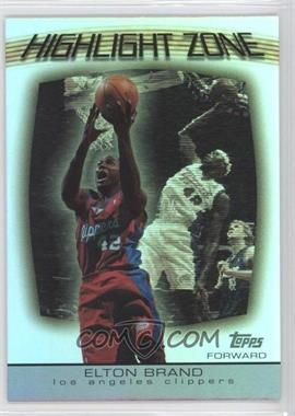 2003-04 Topps Highlight Zone #HZ-6 - Elton Brand