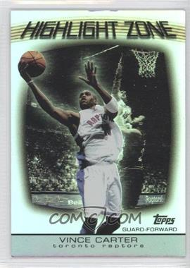 2003-04 Topps Highlight Zone #HZ-8 - Vince Carter