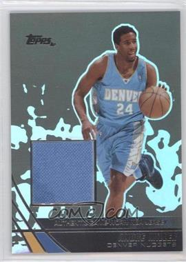 2003-04 Topps Jersey Edition - [Base] - Black #jeAM - Andre Miller /25