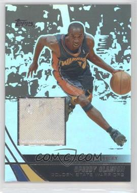 2003-04 Topps Jersey Edition Black #jeSCL - Speedy Claxton /25