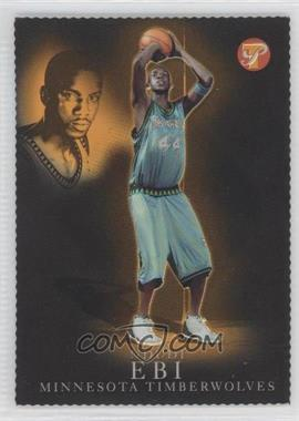 2003-04 Topps Pristine - [Base] - Gold Refractor #178 - Ndudi Ebi /99