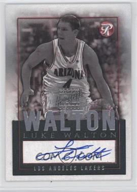 2003-04 Topps Pristine Personal Endorsements [Autographed] #PEA-LW - Luke Walton