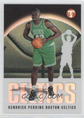2003-04 Topps Pristine Refractor #197 - Kendrick Perkins /1999