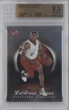 2003-04 Topps Pristine #102 - Lebron James /999 [BGS9.5]