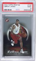 Lebron James /999 [PSA 9]