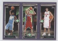 Carmelo Anthony, Chris Kaman, Darko Milicic /5