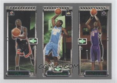2003-04 Topps Rookie Matrix Previews #PP1 - Chris Bosh, Carmelo Anthony, dwayne wade