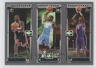 2003-04 Topps Rookie Matrix Previews #PP1 - Dwyane Wade, Chris Bosh, Carmelo Anthony