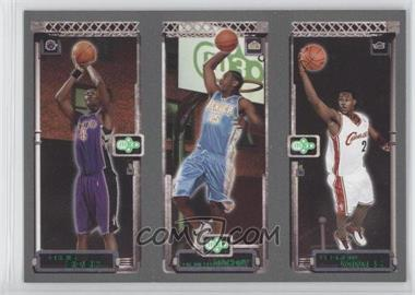 2003-04 Topps Rookie Matrix #111-113-114 - Lebron James, Carmelo Anthony, Chris Bosh