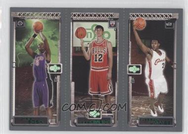 2003-04 Topps Rookie Matrix #111-117-114 - Lebron James, Kirk Hinrich, Chris Bosh