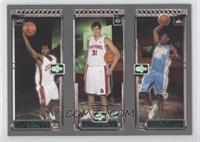 Lebron James, Carmelo Anthony, Darko Milicic