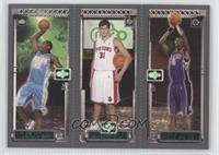 Carmelo Anthony, Darko Milicic, Chris Bosh