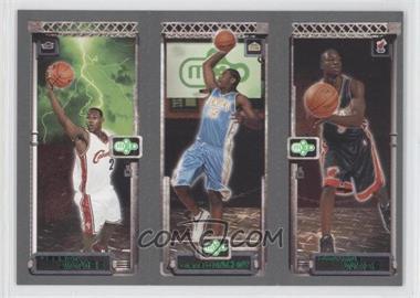 2003-04 Topps Rookie Matrix #115-113-111 - Lebron James, Carmelo Anthony, Dwyane Wade