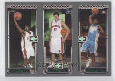 2003-04 Topps Rookie Matrix #CADMLJ - Lebron James, Carmelo Anthony