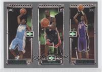 Chris Bosh, Dwyane Wade, Carmelo Anthony